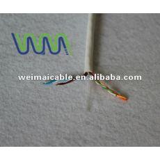 Cat6 código de COLOR LAN CABLE / CABLE de la computadora made in china WM0248M