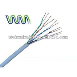 UTP CAT6 الكابل LAN في الهواء الطلق 23awg/24awg WM0282M