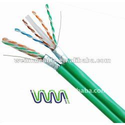 UTP CAT6 الكابل LAN 23awg/24awg WM0211M