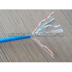 Linan FTP cable de la computadora CAT6 con alta calidad WML724