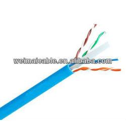 لان الكابل cat6 رمز اللون/ wm0431m كابلات الكمبيوتر المصنوعة في الصين