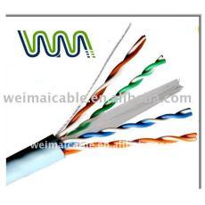 UTP / FTP / STP CAT5E CAT6A CAT7 شبكة CONNECT CAT 5E CAT6 CAT7 كبل UTP TAA الصانع 24/26/28/30AWG 8P8C 009