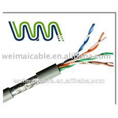 Alambre eléctrico 031 del cable de Lan del ftp CAT7