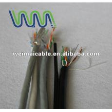 WM0064D UTP / FTP / STP CAT5E CAT6A CAT7 شبكة CONNECT CAT 5E CAT6 CAT7 كبل UTP TAA الصانع 24/26/28/30AWG 8P8C