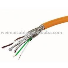 لان الكابل cat7 المصنوعة في الصين