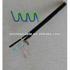 Baja emisión de humos cero halógeno Cat7 cable Lan WM0196D
