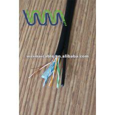 Baja emisión de humos cero halógeno Cat7 cable Lan WM0154M