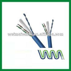 Baja emisión de humos cero halógeno Cat7 cable Lan WM0158M