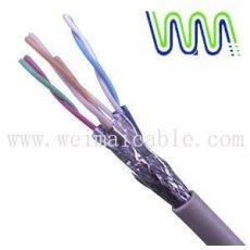 cat7 لان أسلاك كهربائية كابل 6390 المصنوعة في الصين