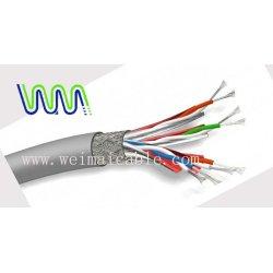 cat7 لان أسلاك كهربائية كابل 6388 المصنوعة في الصين
