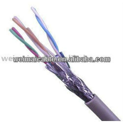 LAN كابل شبكة أسلاك CAT7 FTP WM0369M LAN الكابل