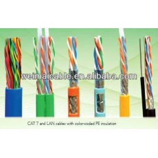 Lan CAT7 Cable FTP red de alambre WM0370M Lan Cable