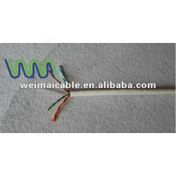 منخفض الدخان صفر الهالوجين Cat7 لان كابل WM0115D