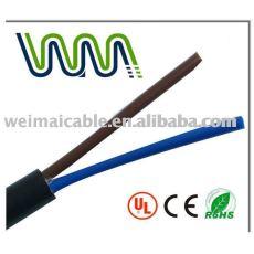 الأسلاك الكهربائية الكابلات المرنة rvv