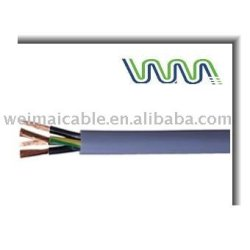 Conductor de cobre funda de goma Flexible Cable WM0539D