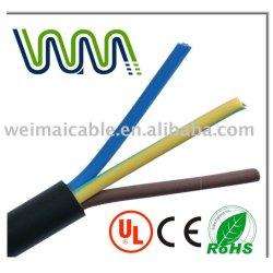 300 / 500 V aislado y de la envoltura cable flexible WM0562D