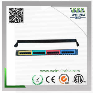 Patch Panel CAT6 colour
