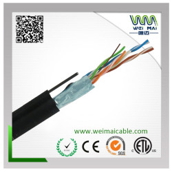 LAN CABLE FTP CAT5E MESSENGER 4PAIRS 24AWG BC