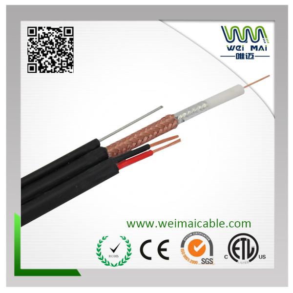 Coaxial Cable RG59 Siamese Messenger outdoor