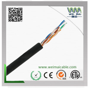 LAN CABLE China Manufacturer supplier outdoor UTP CAT5E 4PAIRS 24AWG BC