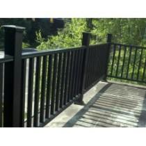 Steel balcony fence