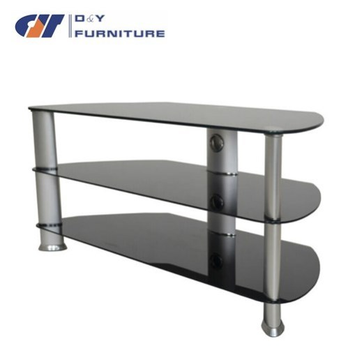 Living Roon Furniture Universal Table Top TV Stand Glass TV Table TV Stand mo -> Modèle Table Tv