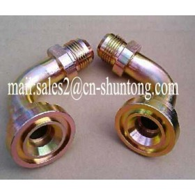 PIPE FITTING HOSE ADAPTER HYDRAULIC FITTING 90°SAE FLANGE 3000PSI