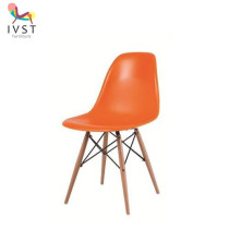 Modern Leisure High Quality PP Seat Colorful Plastic Chair