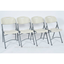 2014 modern cheap plastic folding chair