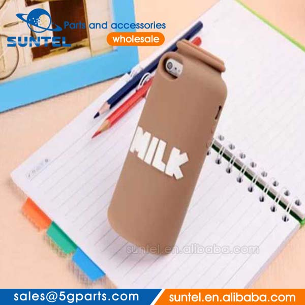 best price milk mobile cell phone case cover with fragrance for 5g/5s