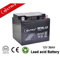 Electrical Equipment  12V 38AH UPS AGM Battery lead acid