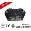 China safety vrla 12v 90AH  deep cycle battery for UPS