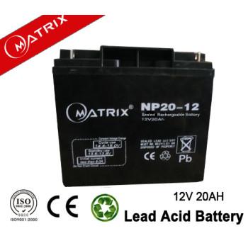 12V 20AH UPS battery maintenance free power supply