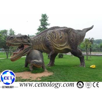 Lifelike Dragon Model Animatronic Dinosaur T-Rex Exhibition