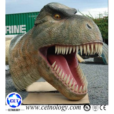 Simulation  Animatronic Dinosaur Head