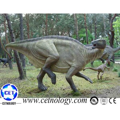 Out Door Playground Equipment Dinosaur Animatronic Alive