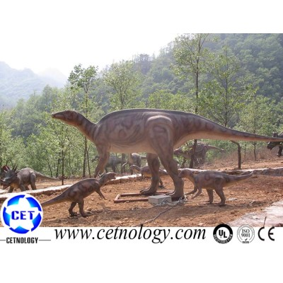 Jurassic Park Animated Iguanodon Model