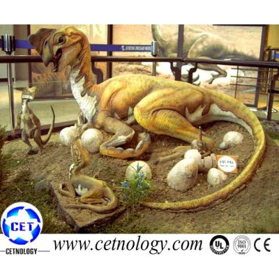 Artificial Dinosaur -Tochisaurus model application in theme park