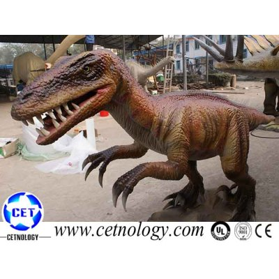 Dinosaur of Utahraptor model for theme parkDinosaur of Utahraptor model for theme park model for theme park