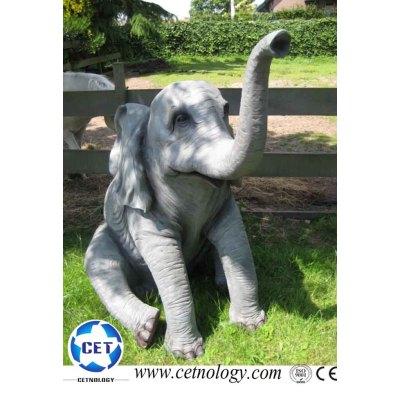 Animatronics Elephant for Amusement Park