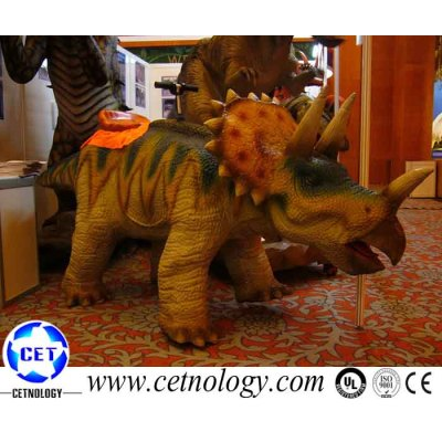 Exhibition animatronic dinosaur