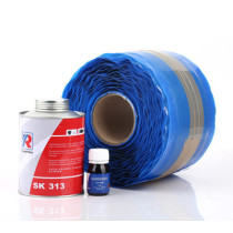 How many sizes is there  of conveyor belt repair strip thickness