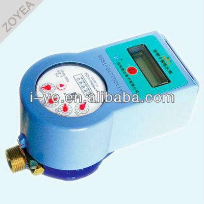 sin contacto prepayment medidor de agua