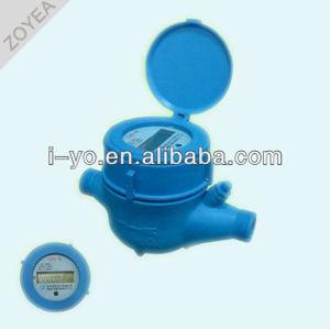 plástico inteligente medidor de agua de alta qualiy
