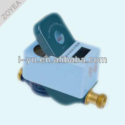 Mojado- tipo de prepago medidor de agua fría