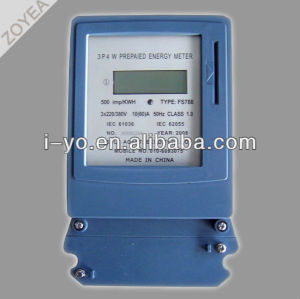 3P 4W Prepayment Energy Meter