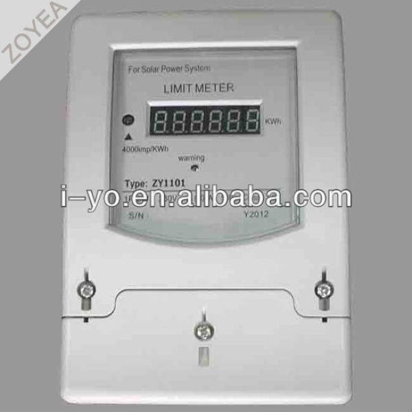 Solar power limiter zy1101 compteur d'énergie