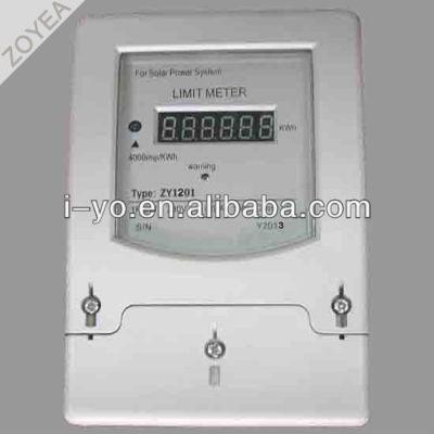 zy1201 de energía solar límite de metro de la energía