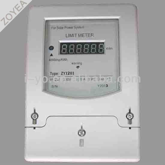 太陽光発電電力量計zy1201制限