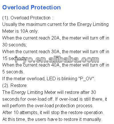 الحد من الطاقة الشمسية zy1202 الطاقة متر